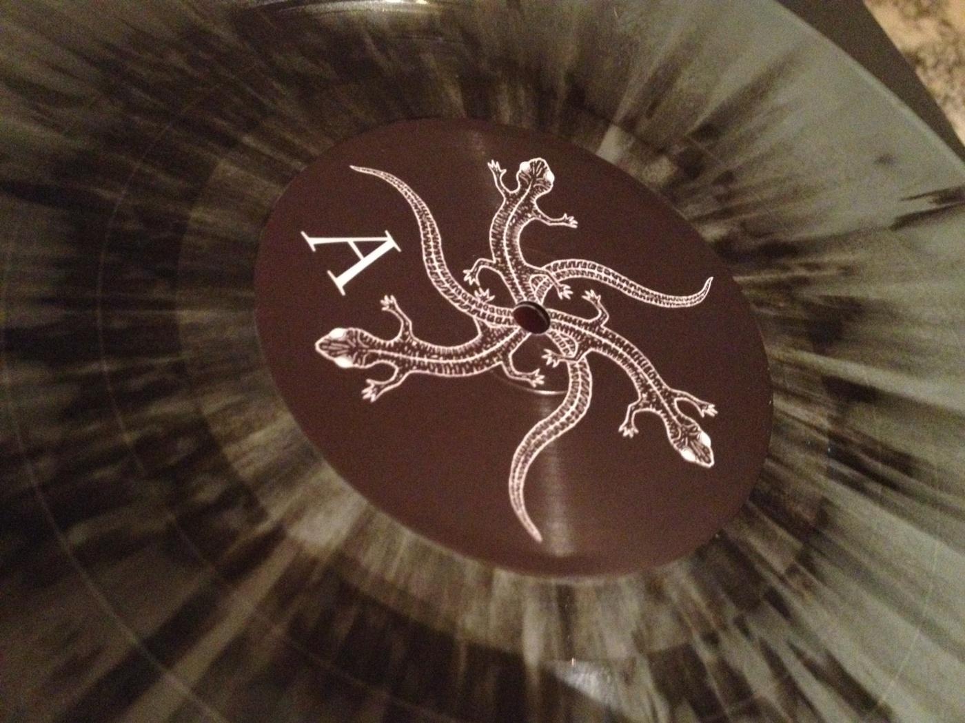 Silver splatter limited edition