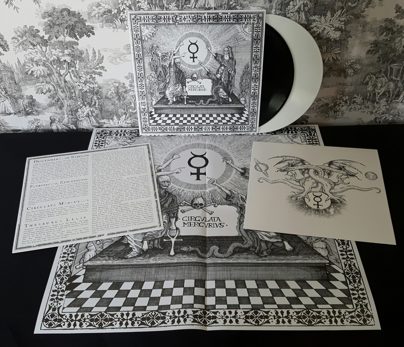 poster and printed innersleeves