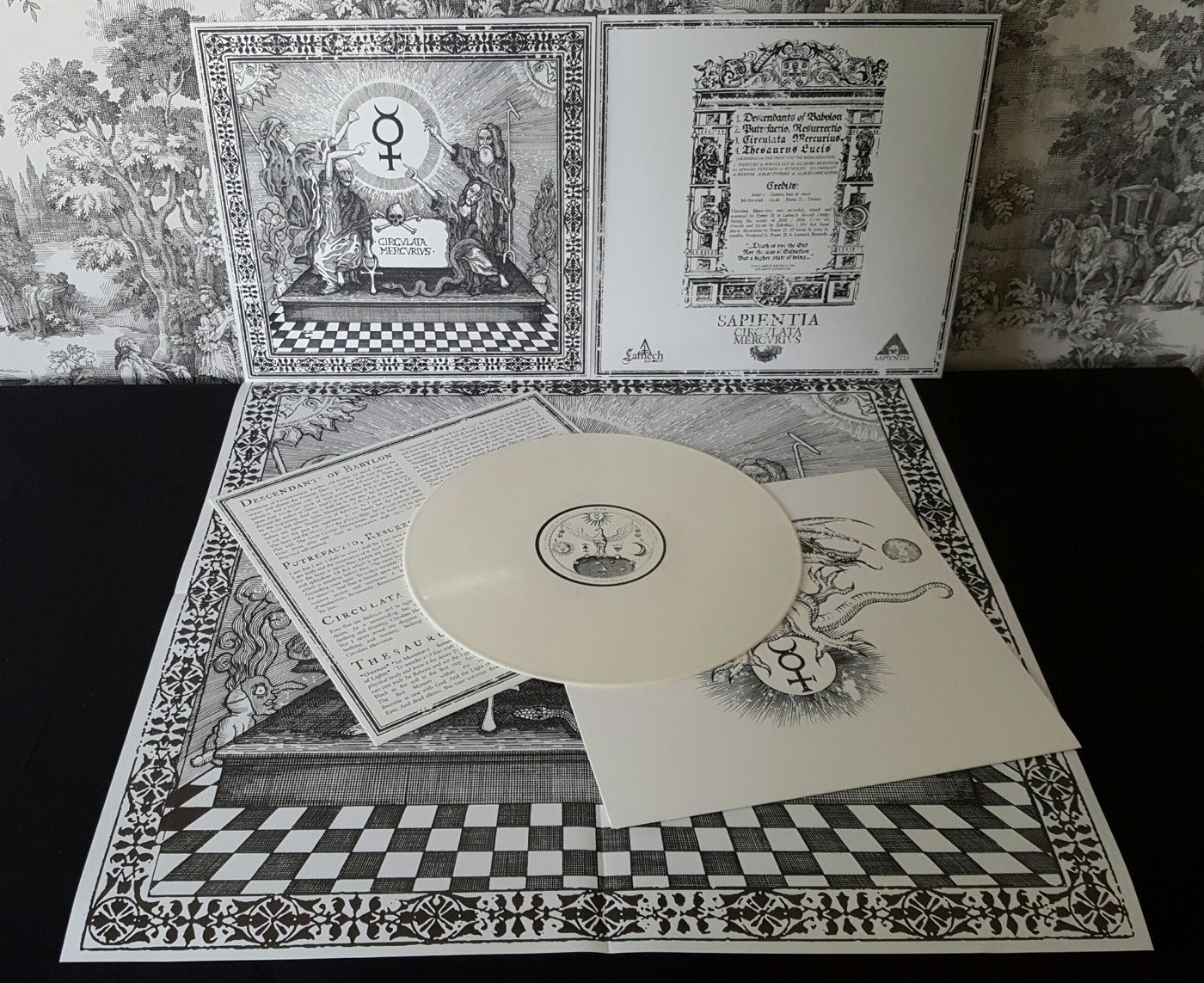 Coloured edition: White vinyl