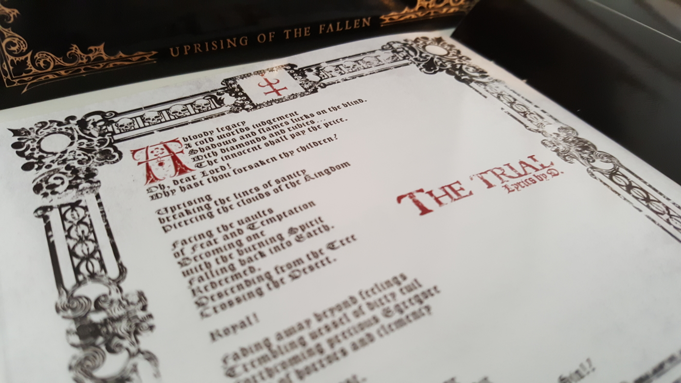 Uprising of the Fallen CD