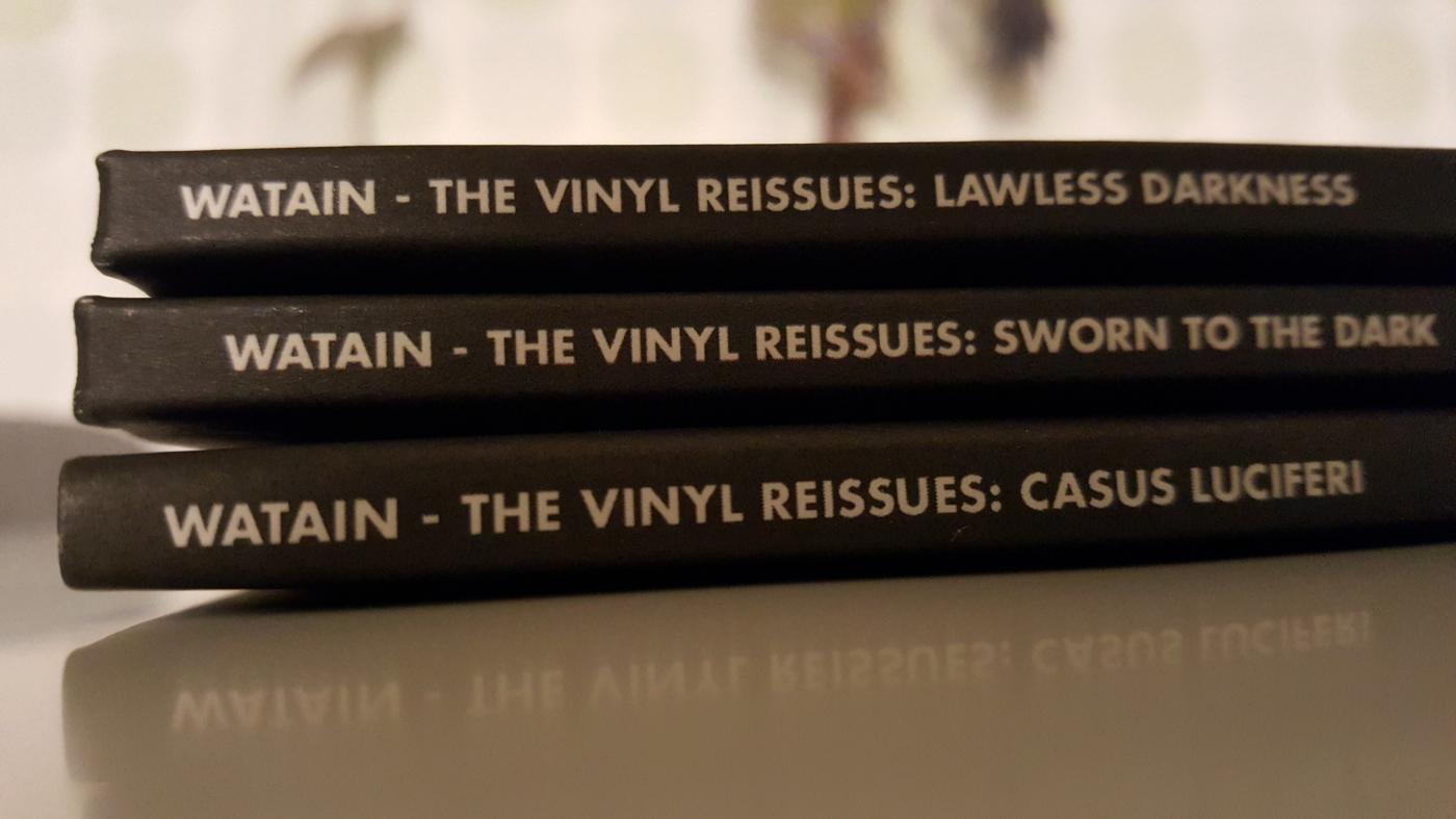 Watain - vinyl reissues