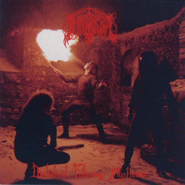 IMMORTAL - Diabolical Fullmoon Mysticism (Re-print) Gatefold LP