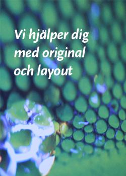 Grafisk design formgivning layout tryckeri original Halmstad Halland