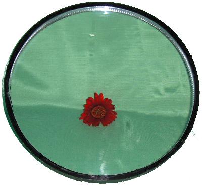 Rund glaskassett 1092