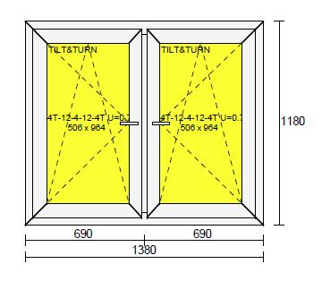 2-luftfönster 14x12 ritning