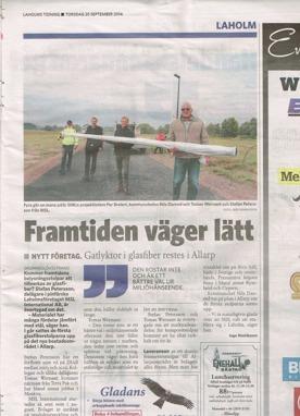 MSL i Laholms Tidning