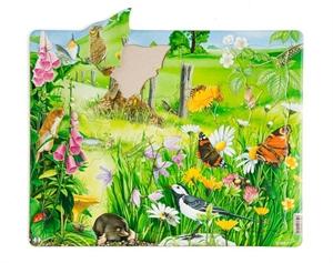 Pussel natur, 20 bitar, av papp - Pussel Natur