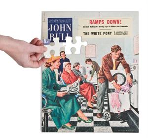 Pussel 1950 tvättstuga