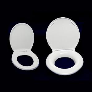 XL Toalettsits järförd med vanlig sits