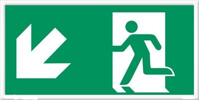 Trappa-ner-vänster