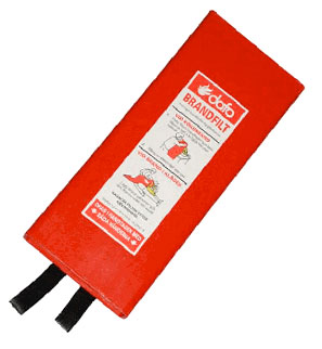 Brandfilt - Brandfilt 1200x1800mm hårdpack.