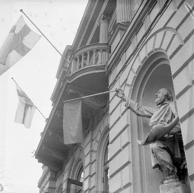 Vanhan valtaus tapahtui myös 1968. Kuva: Yrjö Lintunen.