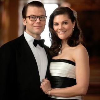 Kronprinsessan Victoria och Daniel Westling. Foto: Paul Hansen