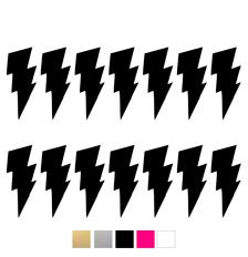 Wall stickers - Stora blixtar - Svart
