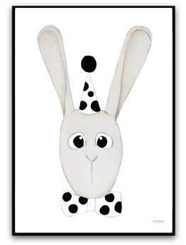 Bunny boy - A4 matt fotopapper