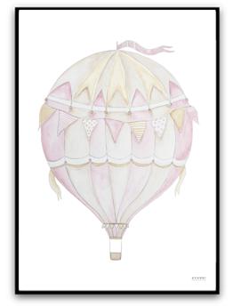 Pink air balloon - A4 220g matt yta