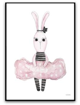 Girly bunny - A4 220g matt yta