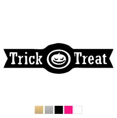 Wall stickers - Trick or treat