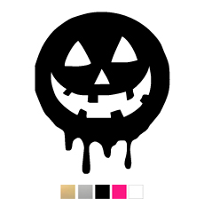 Wall stickers - Halloween stor pumpa