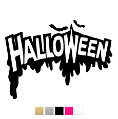 Wall stickers - Halloween text
