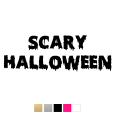 Wall stickers - Scary halloween