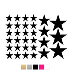 Wall stickers - Stjärnor till dockhus