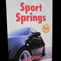 Sportfjädrar/Sänksats Audi A4 Quattro 1,8T/ 01-08