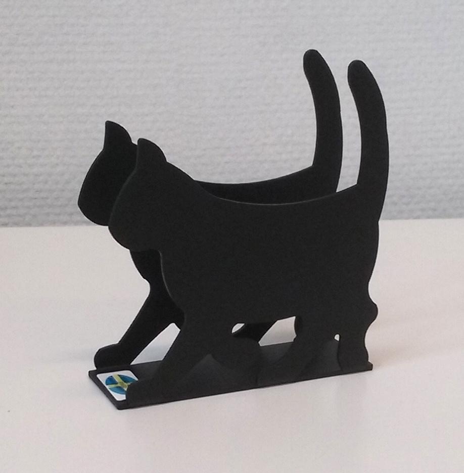 katt-servettställ