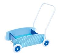 Lära-gå-vagn blå
