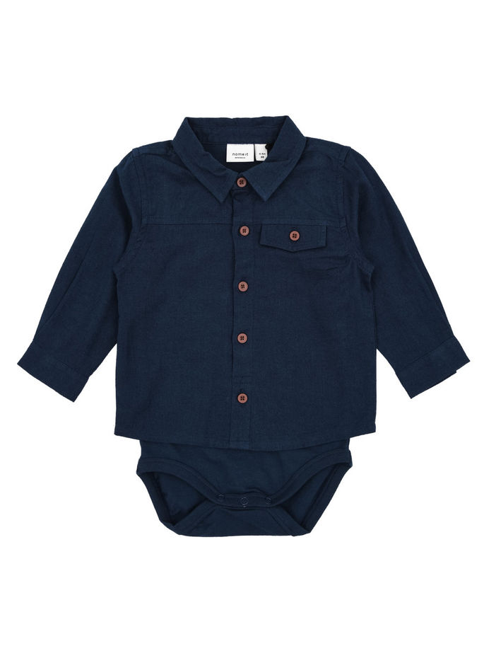 Skjortbody dress blues 1