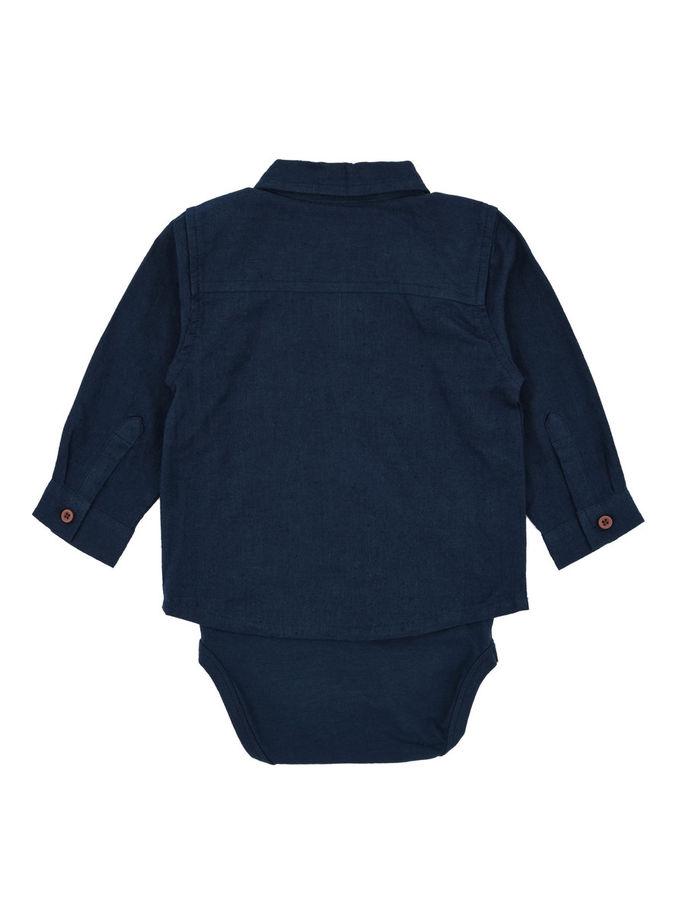 Skjortbody dress blues 2