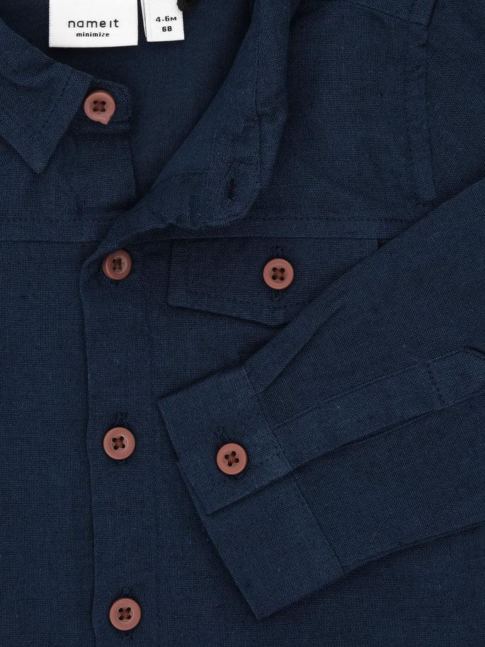Skjortbody dress blues 3