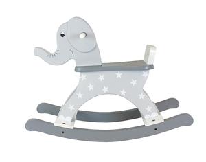 Gungdjur elefant - grå -