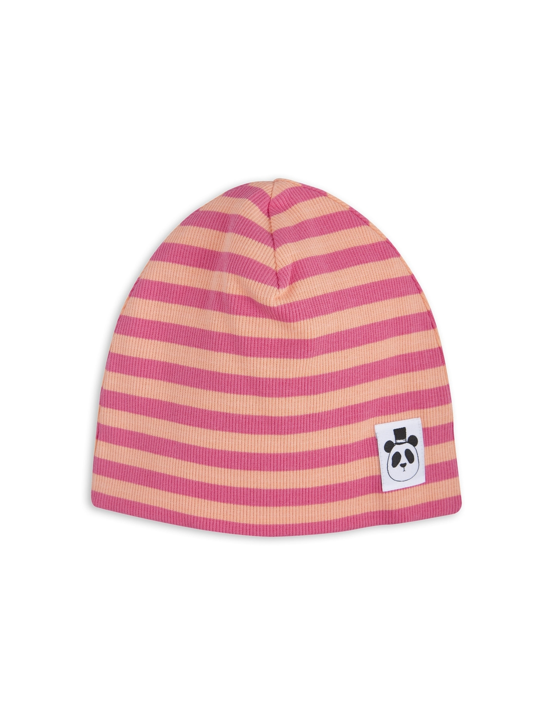 1776515333 1 mini rodini stripe rib beanie pink