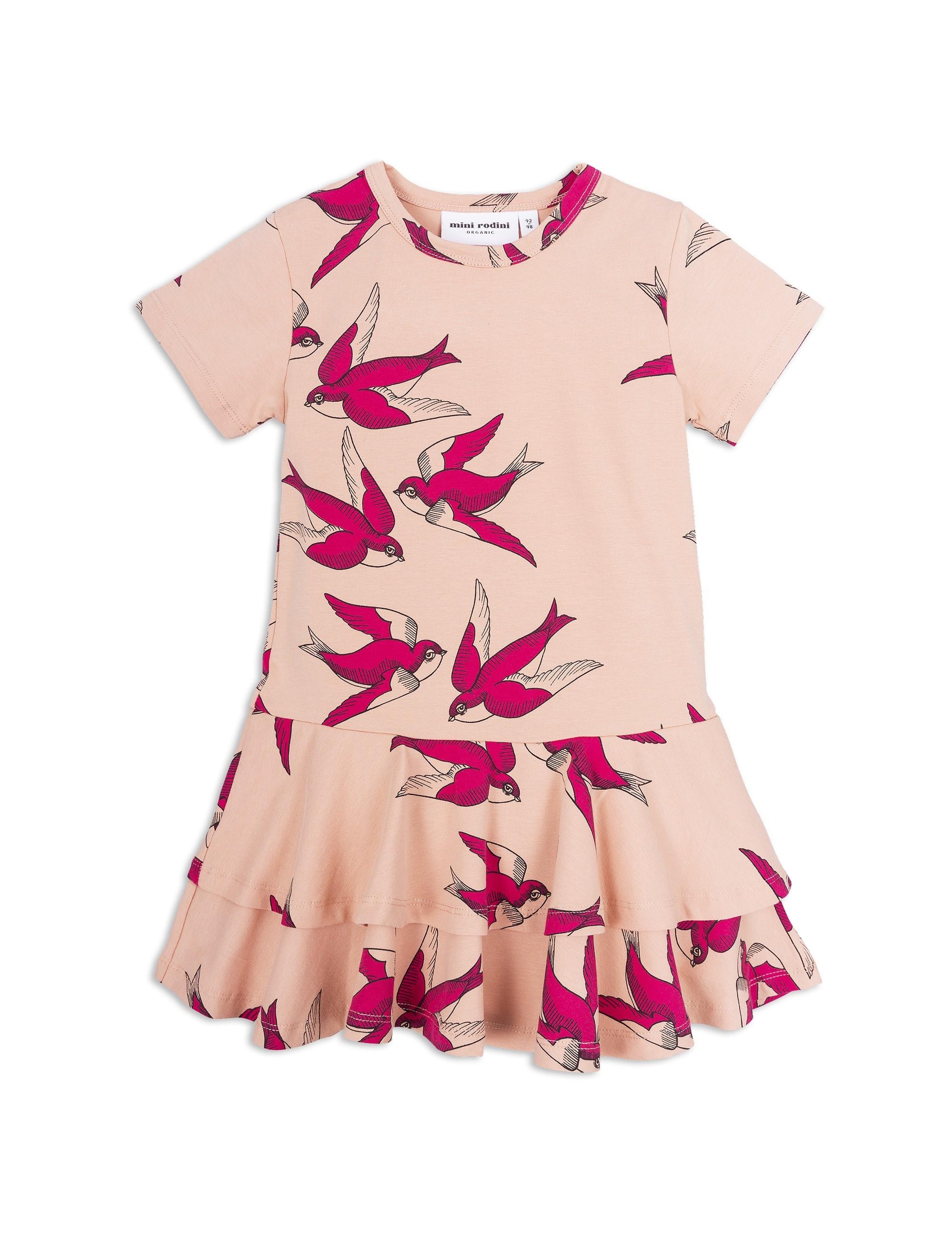 1825014233 1 mini rodini swallows frill dress pink