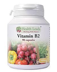 B2 (Riboflavin) 100 mg 90 kapslar -