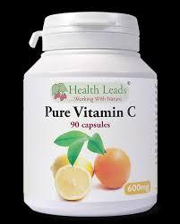Pure c-vitamin 90 veg kapslar 600 mg -