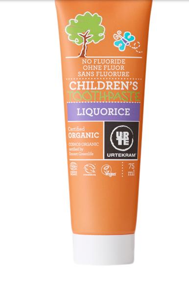 Tandkräm för barn utan flour