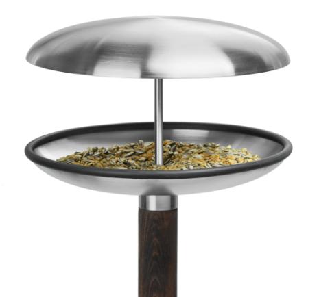 Fågelbord-Rostfritt-Trädgård-design-vinter