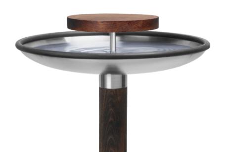 Fågelbord-Rostfritt-Trädgård-design-sommar