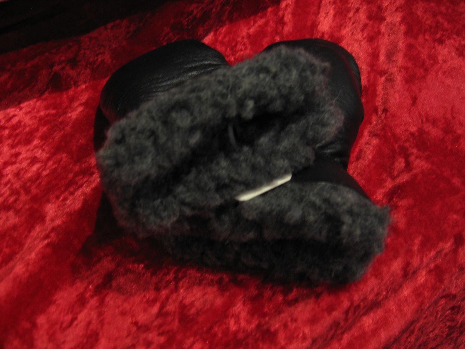 Barnhandske 2 år svart