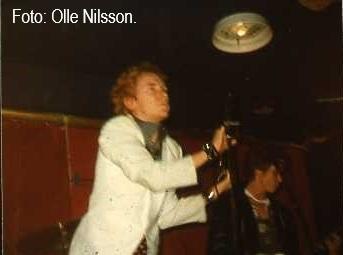 Johnny Rotten och Steve Jones. Foto: Olle Nilsson.
