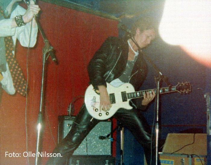 Steve Jones. Foto: Olle Nilsson.