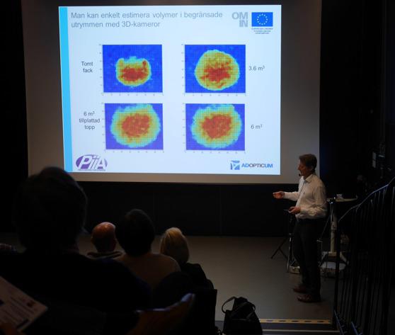 Jonas Sjöberg från Adopticum berättar om olika optiska mättekniker