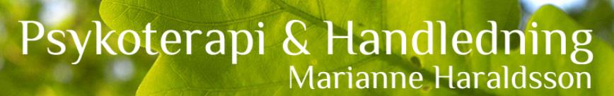 Psykoterapeut Halmstad psykoterapi & handledning Marianne Haraldsson