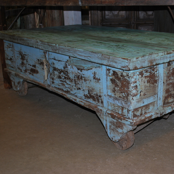 Kistbord på hjul fram