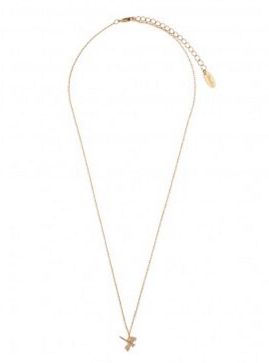 Orelia halsband trollslända guld 2