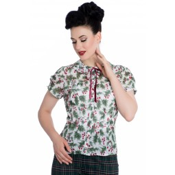 Holly Berry blouse - Holly Berry stl XS