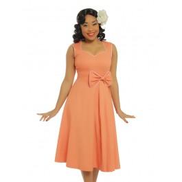Grace tangerine dress - grace dress stl 5XL