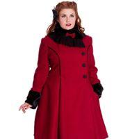 Angelina coat - angelna röd stl 2XL